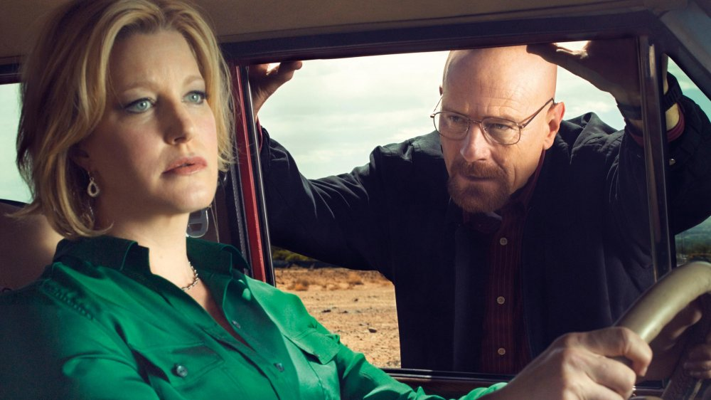 Anna Gunn and Bryan Cranston on AMC's Breaking Bad