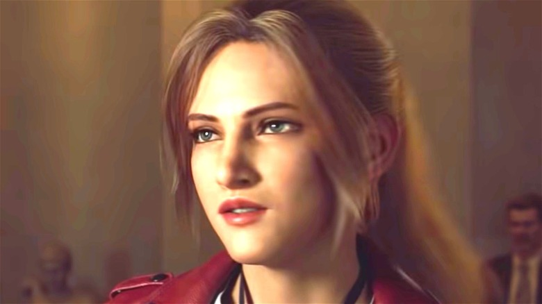 Claire Redfield annoyed