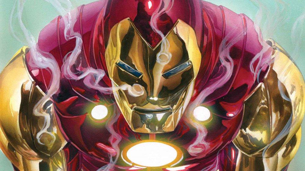 Tony Stark, AKA Iron Man, ready to do battle