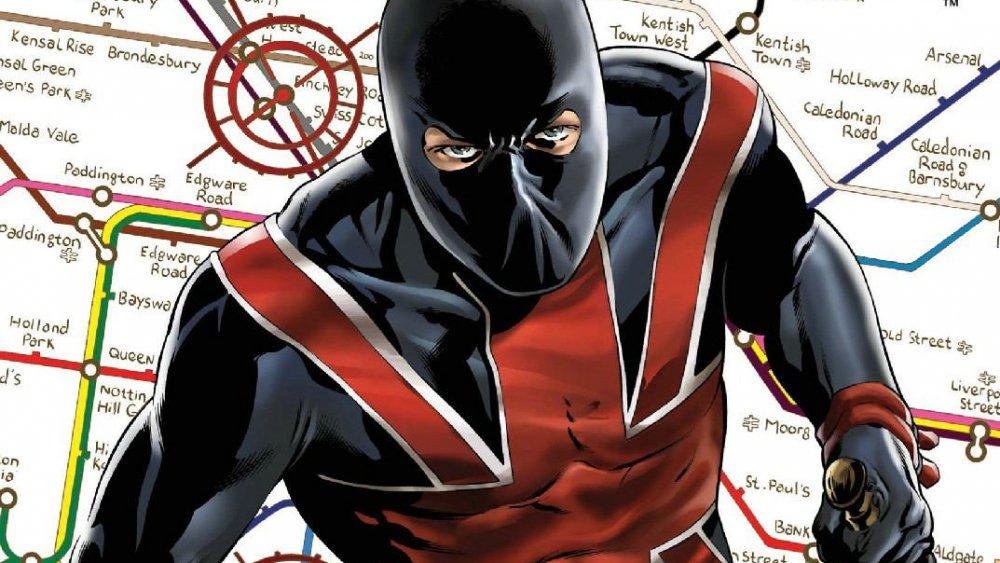 Joey Chapman, AKA Union Jack, from Marvel Comics