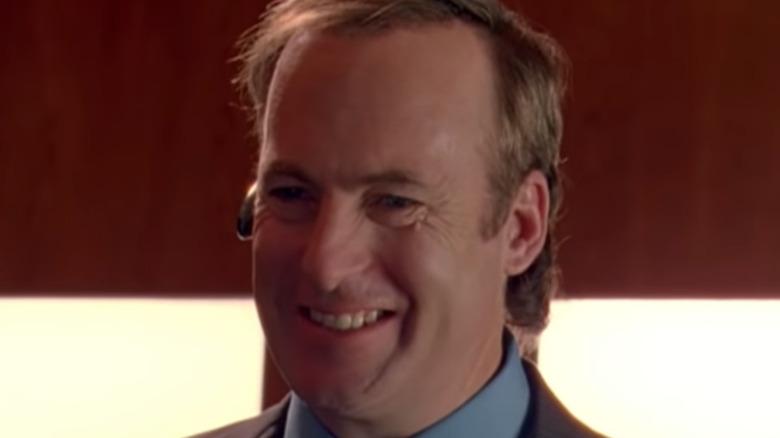 Saul Goodman smiling