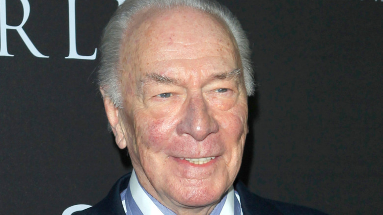 Christopher Plummer at All the Money in the World premiere