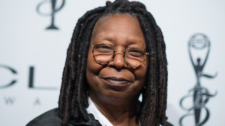 Mother Abagail (Whoopi Goldberg) stands in a wasteland on The Stand