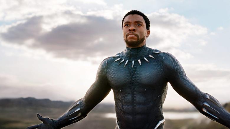 Chadwick Boseman in Avengers: Endgame