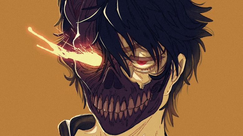 Corpse Husband fiery eye