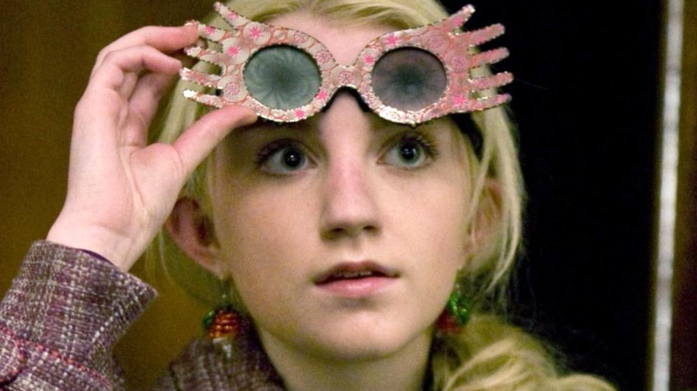 Evanna Lynch Luna Lovegood glasses
