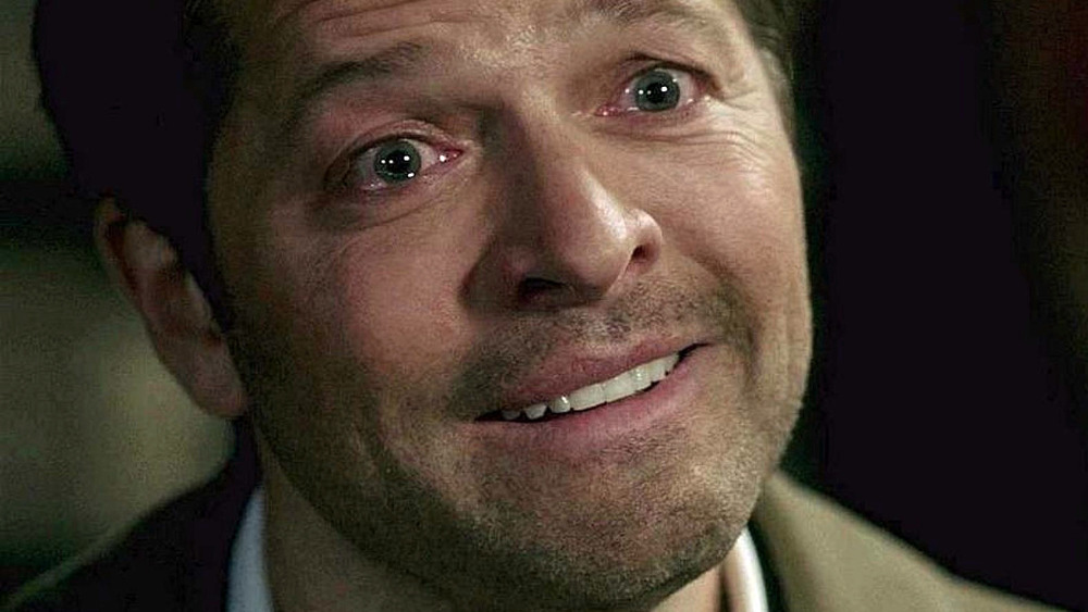 Castiel crying