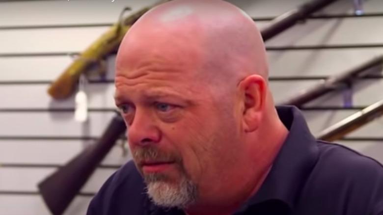 Rick Harrison furrowed brow