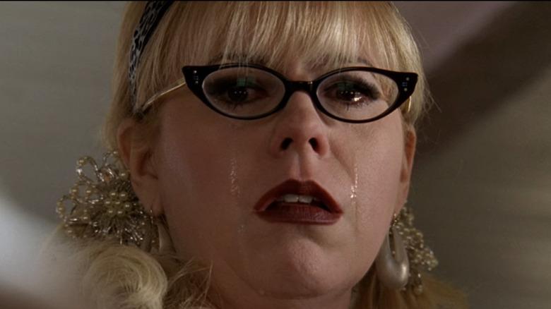 Kirsten Vangsness cries as Penelope Garcia in Criminal Minds