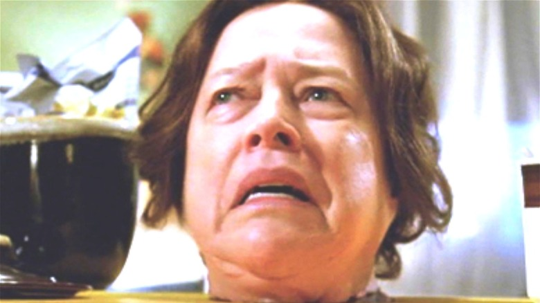 Madame LaLaurie crying
