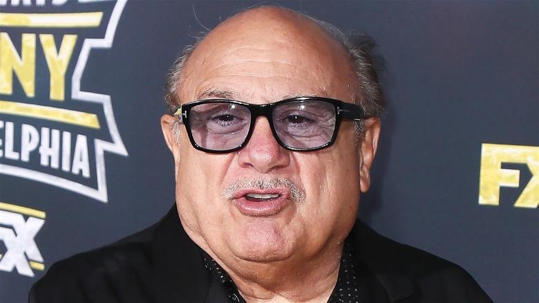 Danny Devito in glasses