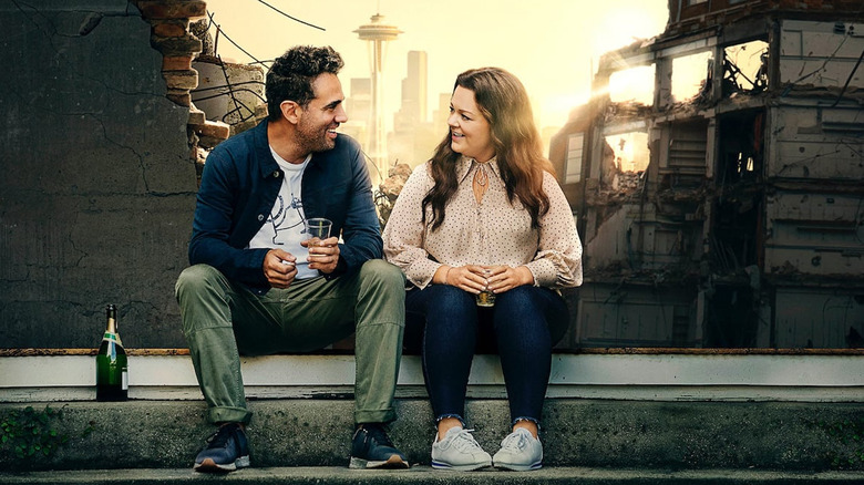 Melissa McCarthy and Bobby Cannavale in Superintelligence