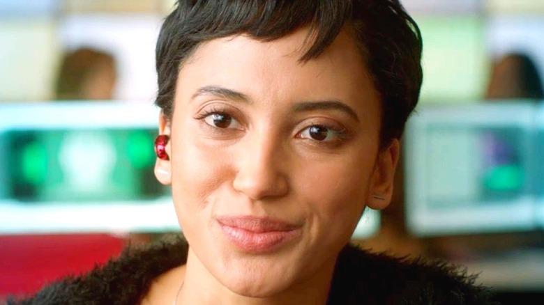 Nora Antony short hair