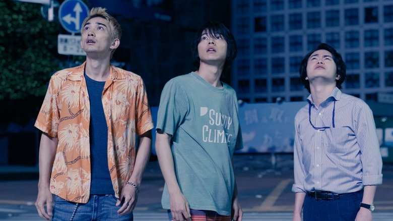 Arisu and friends in Shibuya