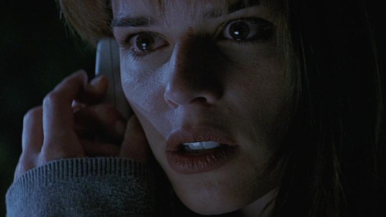 Sidney on phone