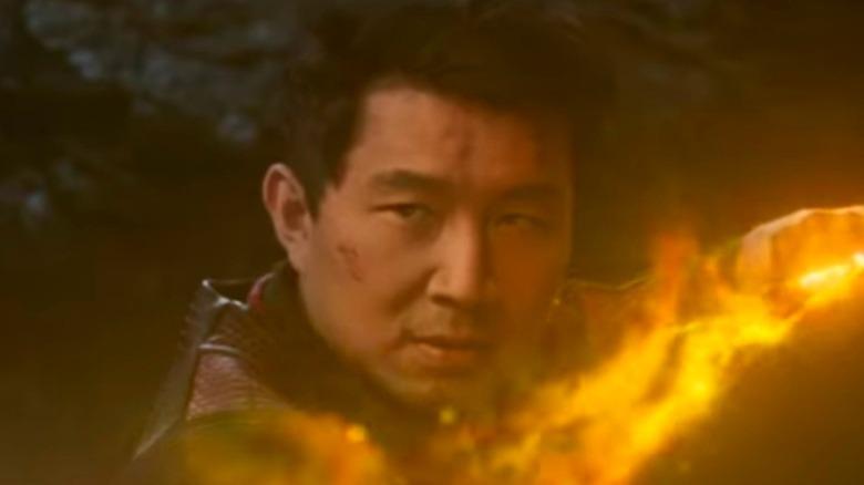 Shang-Chi using the Ten Rings