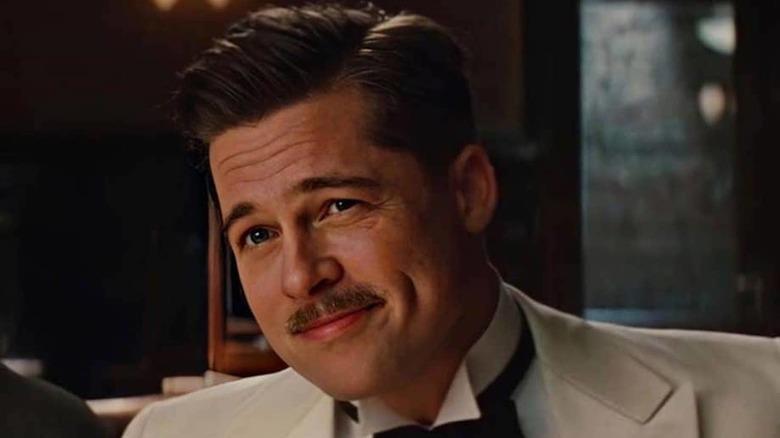 Brad Pit portraying Aldo Rain in Inglourious Basterds