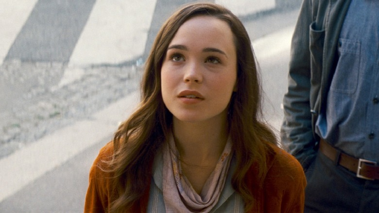 Elliot Page as Ariadne in Inception