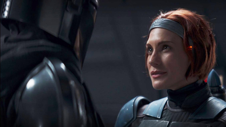 Katee Sackhoff as Bo-Katan Kryze in The Mandalorian