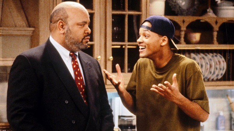 James Avery and Will Smith in NBC's Fresh Prince of Bel-Air