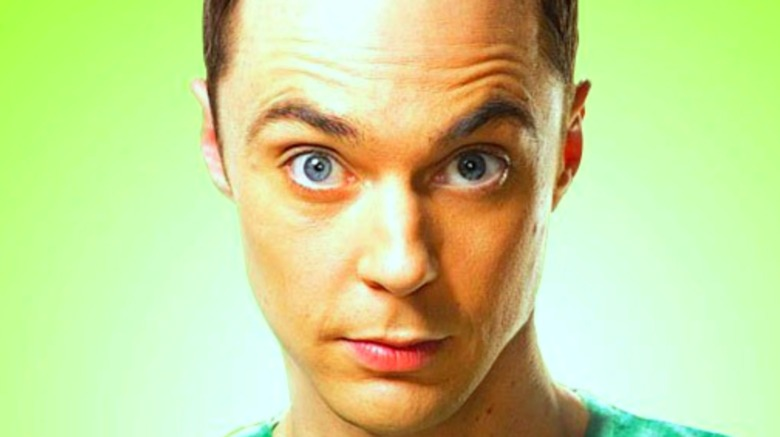 close up of Sheldon Cooper