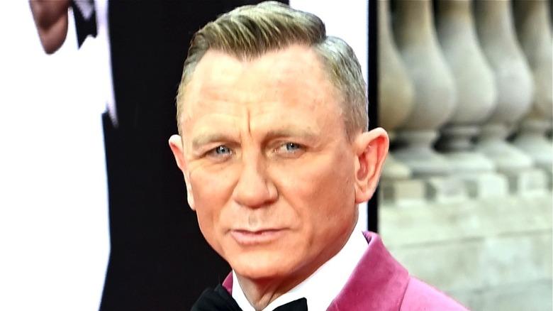 Daniel Craig at James Bond: No Time To Die premiere