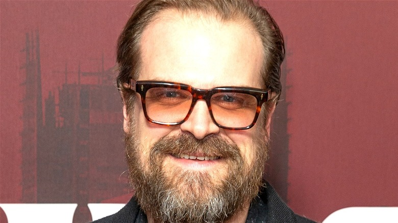 David Harbour glasses