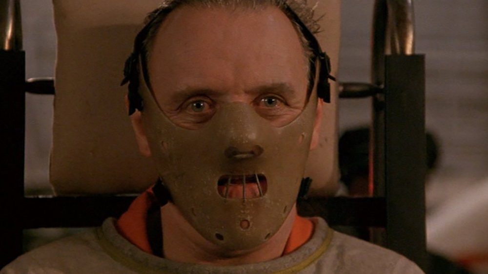 Anthony Hopkins in The Slince of the Lambs