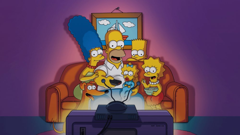 Promo image of The Simpson family