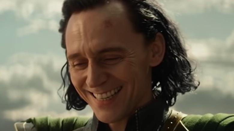 Loki laughing