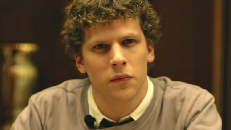 Jesse Eisenberg as Mark Zuckerberg in The Social Network