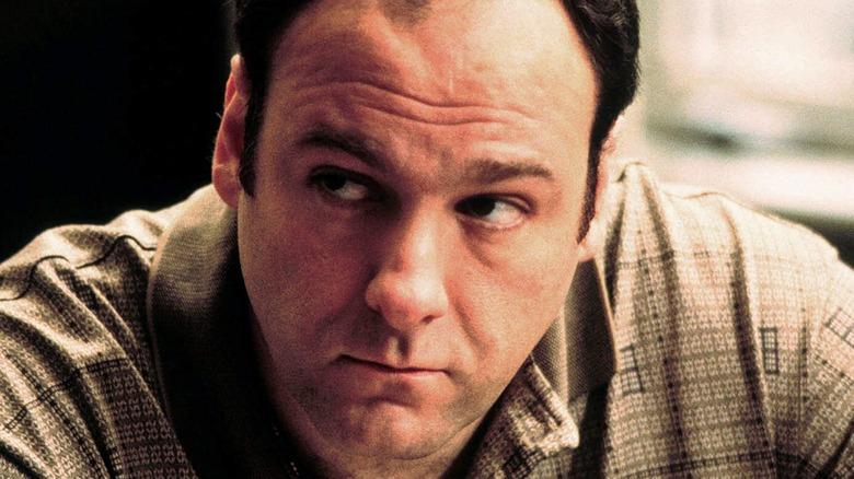 James Gandolfini Tony Soprano annoyed