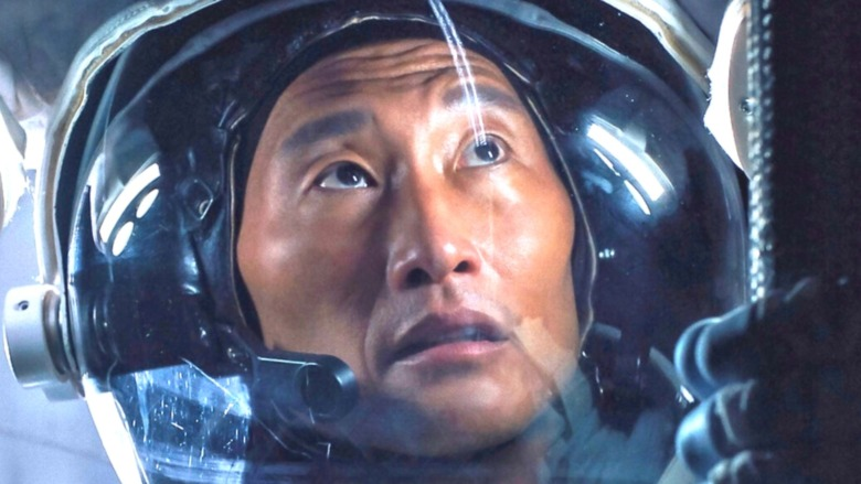 Daniel Dae Kim spacesuit