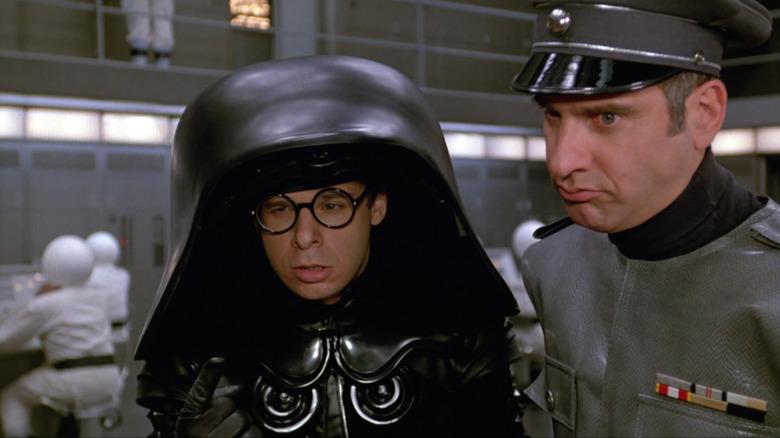 Rick Moranis as Dark Helmet in Spaceballs