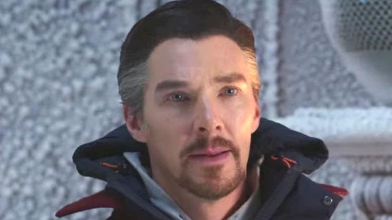 Doctor Strange greying hair