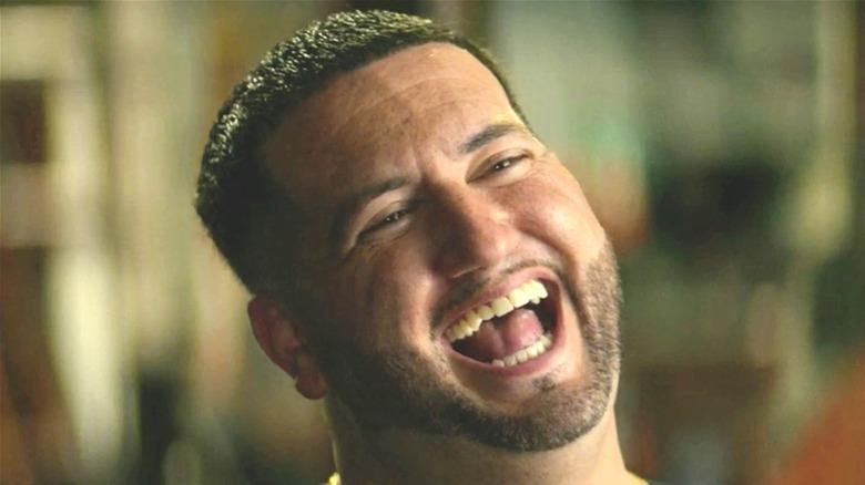 AJ Galante laughing