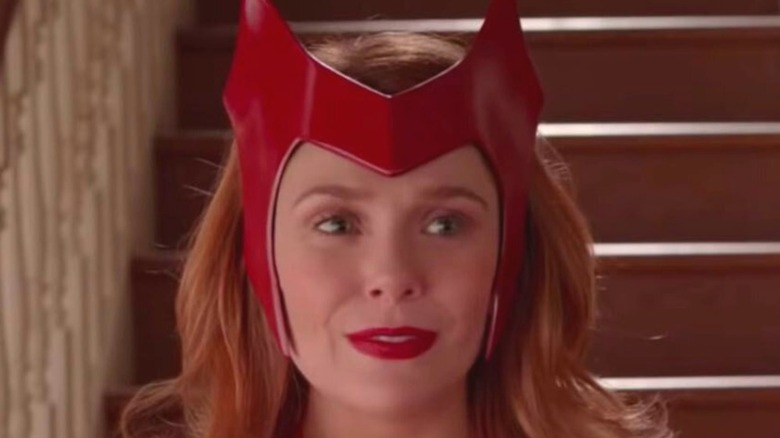 WandaVision Scarlet Witch costume