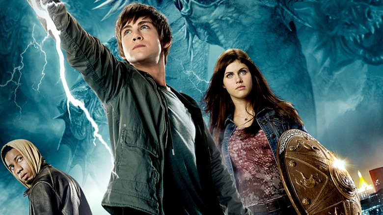 A poster for Percy Jackson & the Olympians: The Lightning Thief