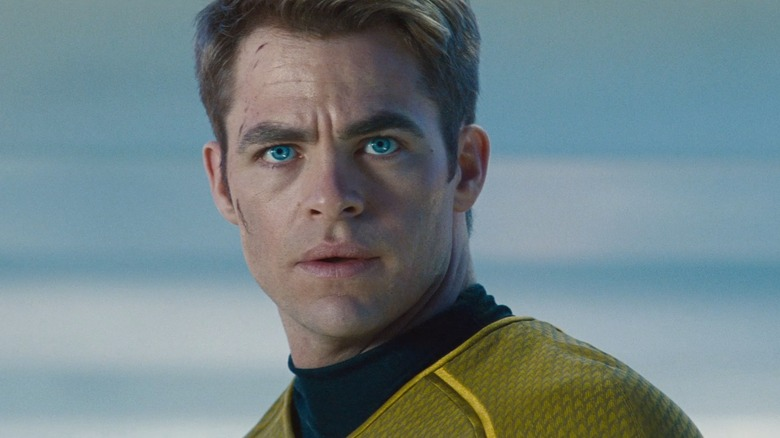 Chris Pine in Star Trek Into Darkness