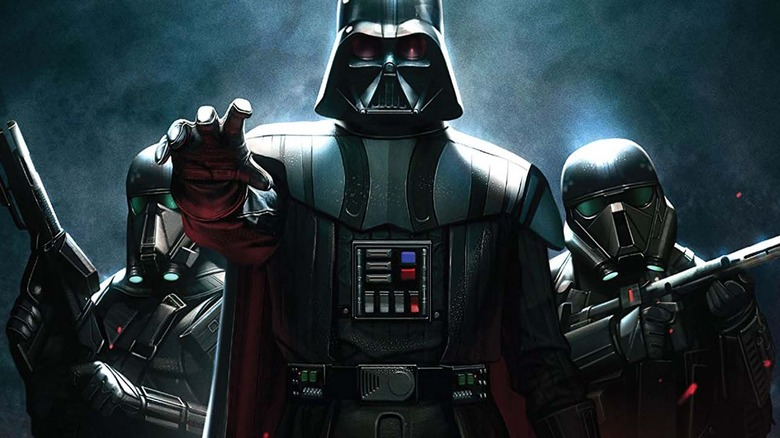 Darth Vader from Marvel's Dark Lord of the Sith series