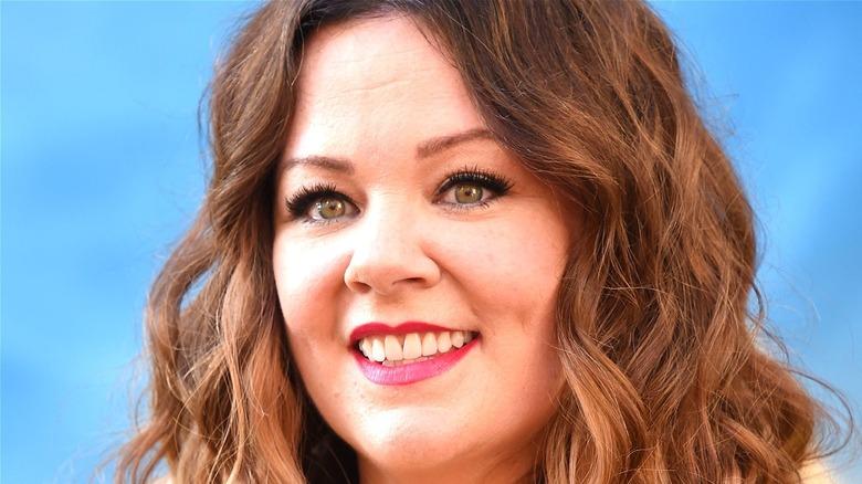 Melissa McCarthy smiling at camera