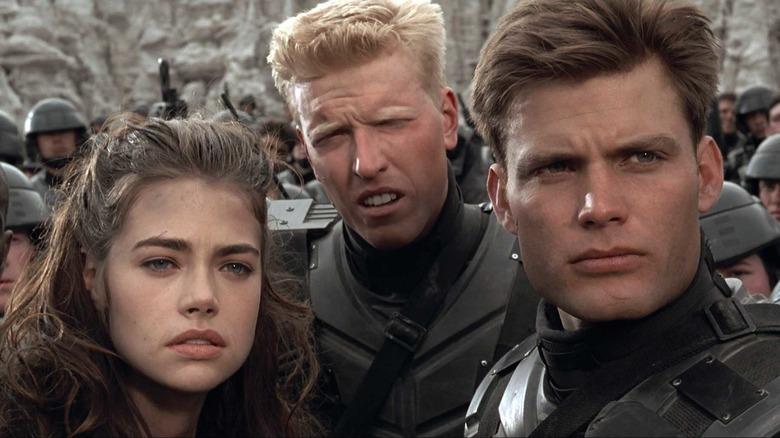 Carmen, Levy, and Johnny Rico