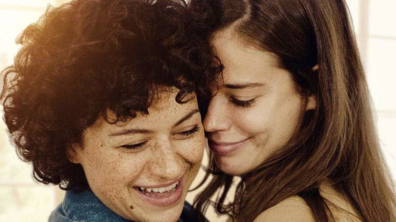 "Alia Shawkat and Miguel Arteta in ""Duck Butter"""