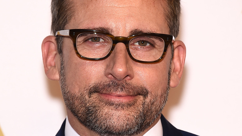 Steve Carell smiling in picture