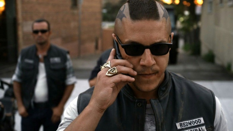 Theo Rossi as Juice on FX's Sons of Anarchy