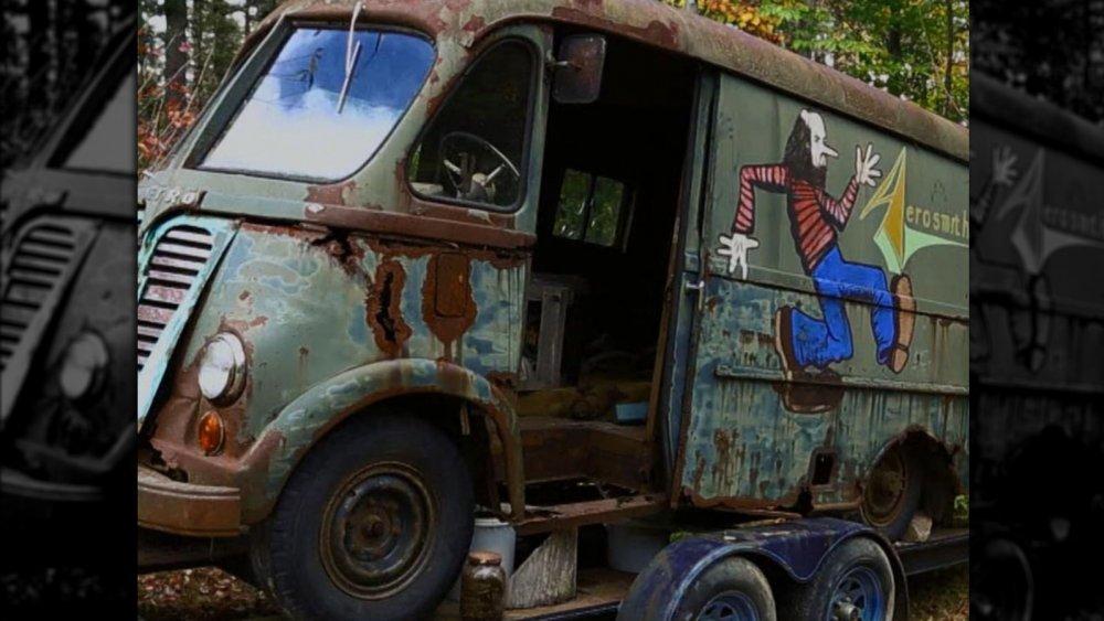 Aerosmith van from History's American Pickers