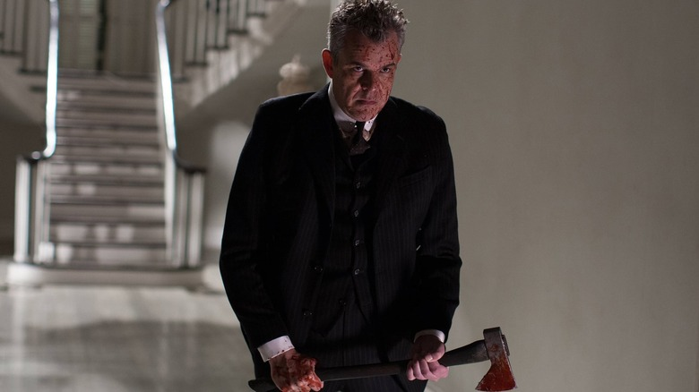 Danny Huston as the Axeman on American Horror Story: Coven