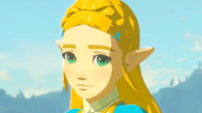 Zelda looking nervous