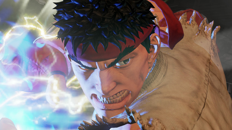 Street Fighter 5 Ryu with Hadouken