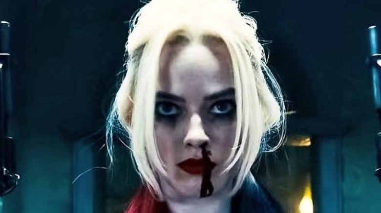 Margot Robbie ready for battle